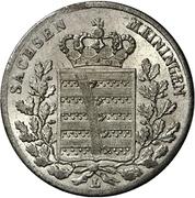 3 Kreuzer - Bernhard II – obverse