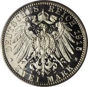 2 Mark - Bernhard III (Death) – reverse