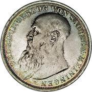 3 Mark - Georg II – obverse