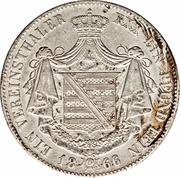 1 Vereinsthaler - Bernhard II – reverse