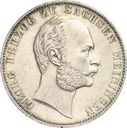 1 Vereinsthaler - Georg II – obverse