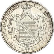 1 Vereinsthaler - Georg II – reverse