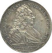 ½ Thaler - Death of Johann Ernst VIII – obverse