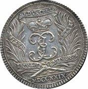½ Thaler - Death of Johann Ernst VIII – reverse