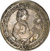 1 Thaler - Johann Ernst VIII – obverse