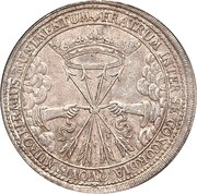 1 Thaler - Wilhelm IV (Death of Wilhelm IV) – reverse