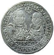 1 Thaler - Friedrich Wilhelm I and Johann III – obverse