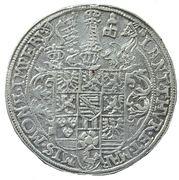 1 Thaler - Friedrich Wilhelm I and Johann III – reverse