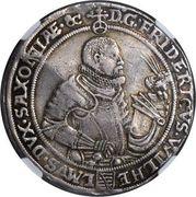 1 Reichsthaler - Friedrich Wilhelm I & Johann III – obverse