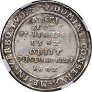 1 Reichsthaler - Friedrich Wilhelm I & Johann III – reverse