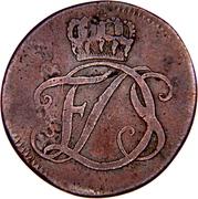 1 Pfennig - Friedrich III – obverse