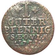 1 Guter Pfennig - Friedrich III – reverse