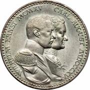 3 Mark - Wilhelm Ernst (Grand Duchy) – obverse