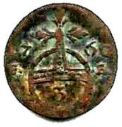 3 Pfennig - Anna Amalia Regent – reverse
