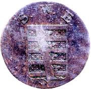 3 Pfennige - Karl August – obverse