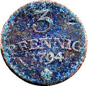 3 Pfennig - Karl August – reverse