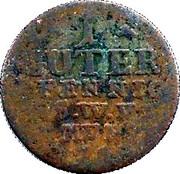 1 Pfennig - Ernst August II Konstantine – reverse