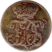 2 Pfennig - Friedrich III – obverse