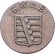 3 Pfennig - Karl August – obverse