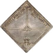 1 Thaler - Christian II (Schützenfest-Klippe) – reverse