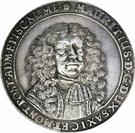 1 Thaler - Moritz Wilhelm – obverse