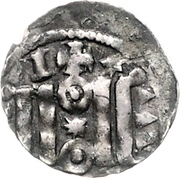 1 Pfennig - Heinrich der Löwe (Bardowick) – reverse