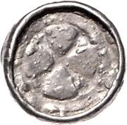 1 Pfennig (Sächsischer Hochrandpfennig; Northern March) – reverse