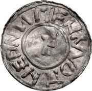 1 Denar - Bernhard I. (Bardowick) – reverse