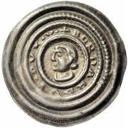 1 Brakteat - Bernhard III. – obverse