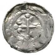 1 Pfennig - Heinrich IV. (Sächsischer Hochrandpfennig) – obverse