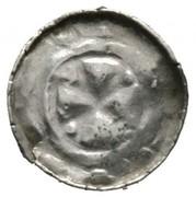 1 Pfennig - Heinrich IV. (Sächsischer Hochrandpfennig) – reverse