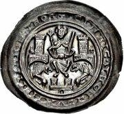 1 Brakteat - Heinrich der Löwe (Bardowick) – obverse