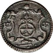 1 Pfennig - Friedrich August I – reverse
