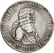 2 Thaler - Johann Georg II. (Wechseltaler) – obverse