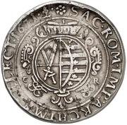 2 Thaler - Johann Georg II. (Wechseltaler) – reverse
