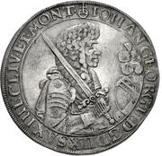 1 Thaler - Johann Georg II. (Gesamttaler) – obverse
