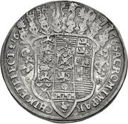 1 Thaler - Johann Georg II. (Gesamttaler) – reverse