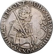 ½ Thaler - Johann Georg III. – obverse