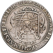 ½ Thaler - Johann Georg III. – reverse