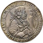 1 Thaler - Johann Georg III. – obverse