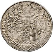 1 Thaler - Johann Georg III. – reverse