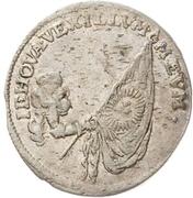 1 Groschen - Johann Georg III. (Death) – reverse