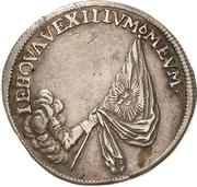 ⅓ Thaler - Johann Georg III. (Death) – reverse