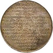 1 Thaler - Johann Georg III. (Death) – reverse