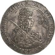 1 Thaler - Johann Georg IV. – obverse