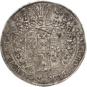 1 Thaler - Johann Georg IV. – reverse