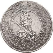 2 Thaler - Johann Georg III. (Death) – obverse