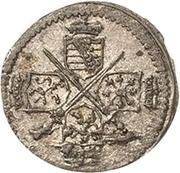 1 Pfennig - Johann Georg IV – obverse
