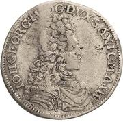 ⅙ Thaler - Johann Georg IV. – obverse