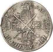 ⅙ Thaler - Johann Georg IV. – reverse